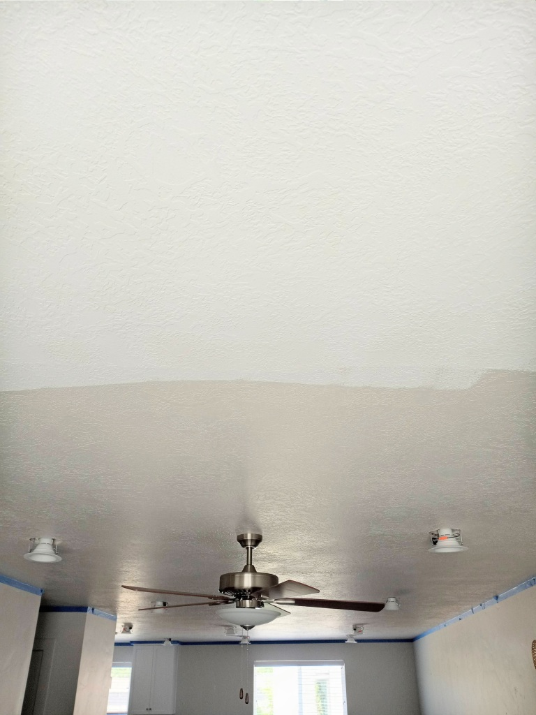Paint Your Ceiling Flat White