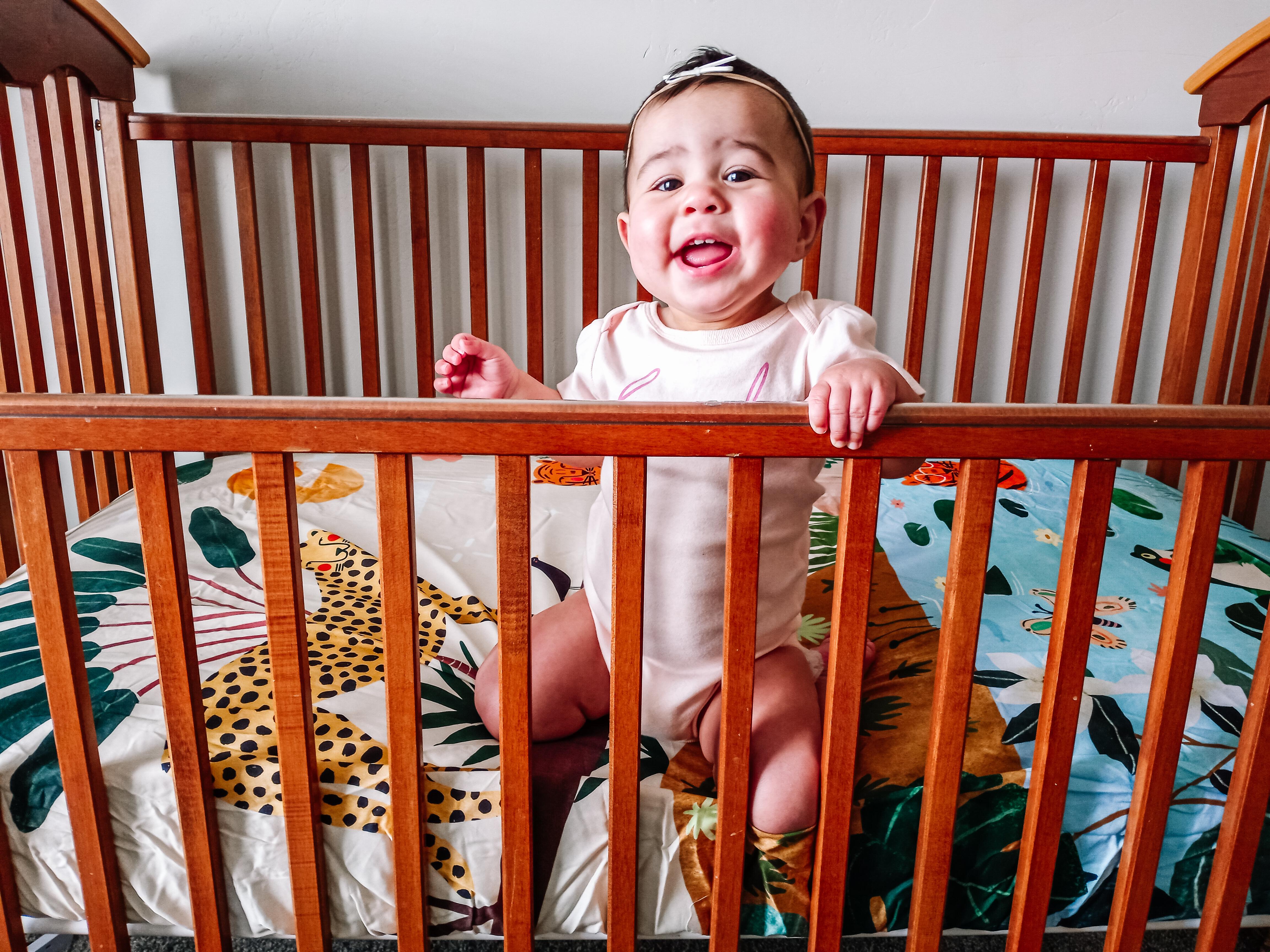 Jungle nursery decor for baby