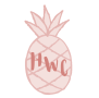 Home With Character Pineapple Logo